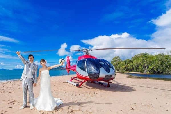Cairns Wedding Helicopters