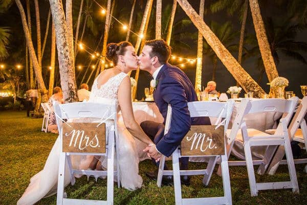 Cairns Beach & Garden Wedding Packages